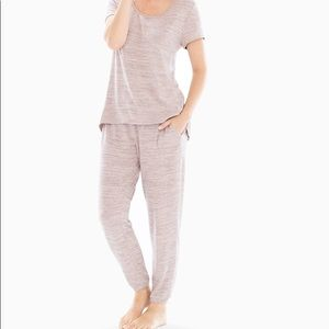 NEW Soma COZY NIGHTS Banded Ankle Pajama SET